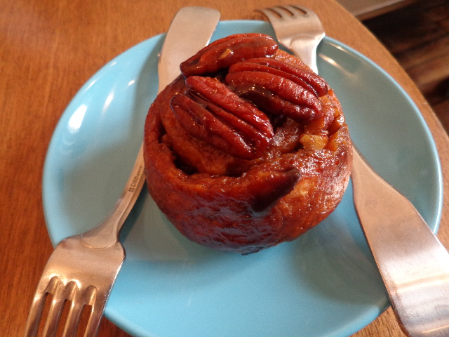 Sticky bun © GP