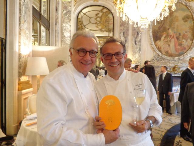 Alain Ducasse et Massimo Bottura © GP