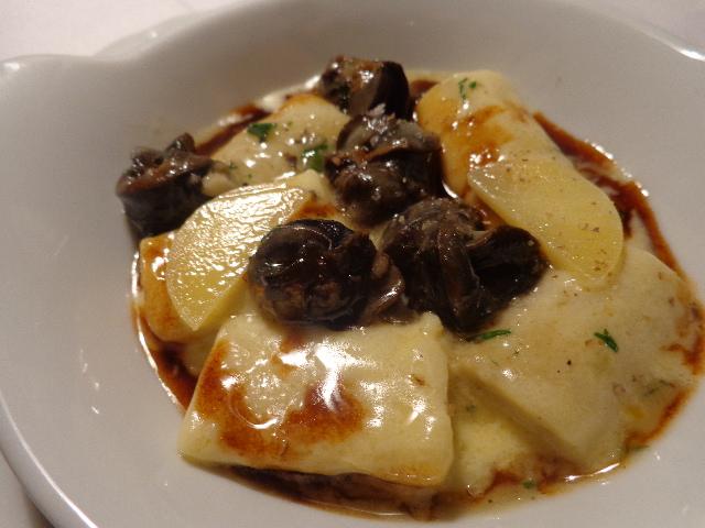 Gnocchi aux escargots © GP