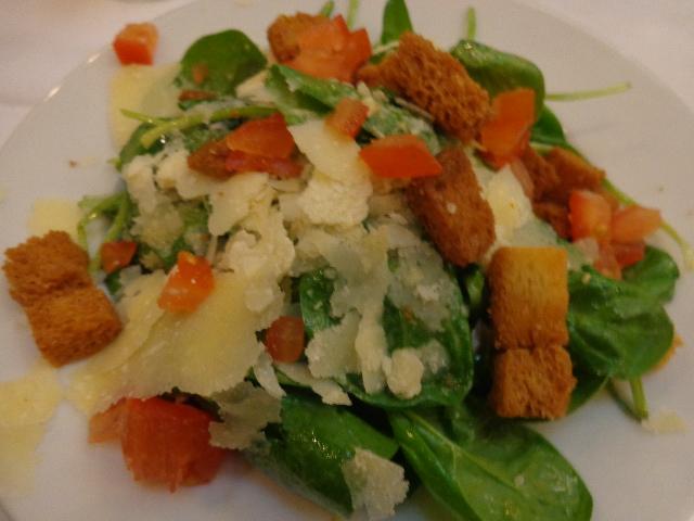 Salade de pousses d'épinards © GP