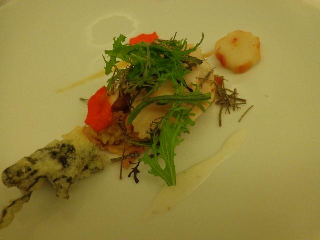 Poulet fumé, sauce wasabi© GP