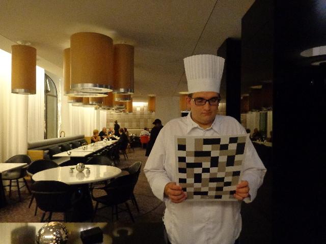 Thomas Bruno et la salle à manger © GP