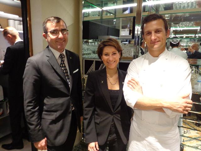 Frédéric Rouen, Estelle Touzet et Christophe Saintagne © GP