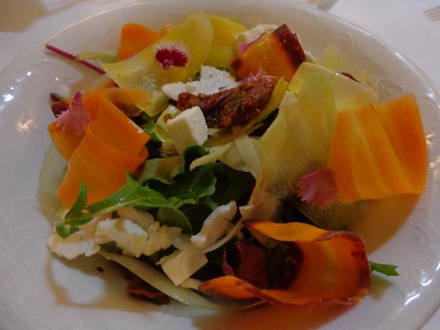 Légumes et féta © GP