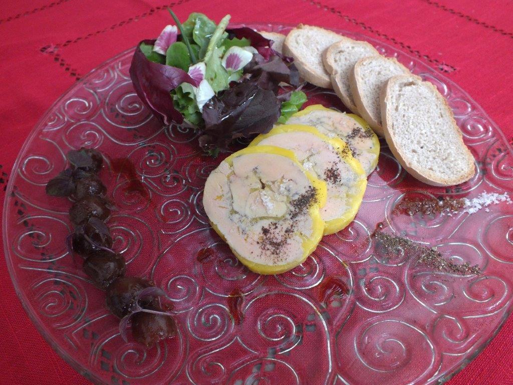 Foie gras de canard fermier © AA