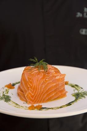 Pavé de saumon © Maurice Rougemont
