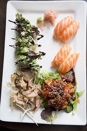Assiette japonaise © Maurice Rougemont