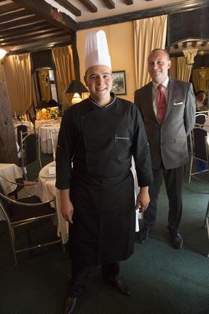 Le chef et le maître d'hôtel © Maurice Rougemont
