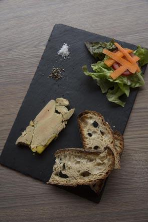 Planche de foie gras © Maurice Rougemont