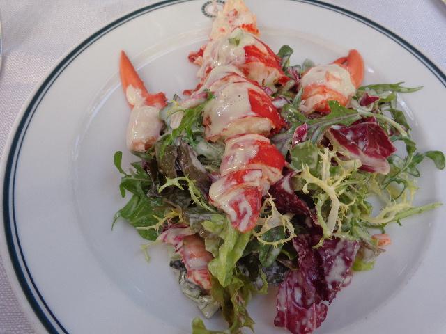 Salade de homard © GP
