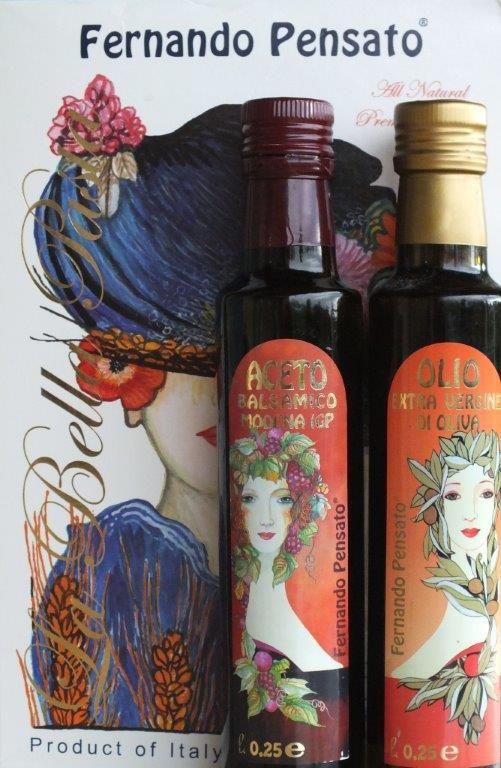 Vinaigre, huile et pâtes © AA