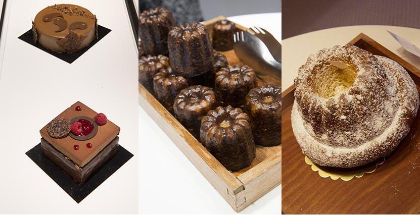Cannelés, kouglof, pâtisseries ©Maurice Rougemont