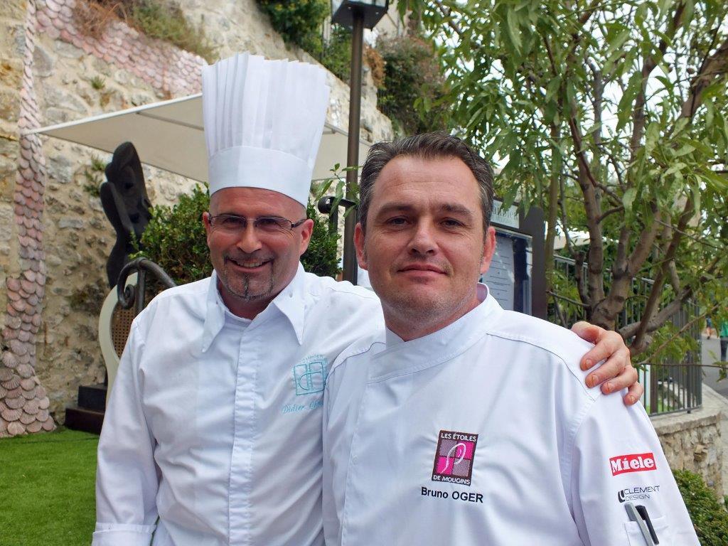 Didier Chouteau (l'Amandier) et Bruno Oger (Villa Archange) ©AA