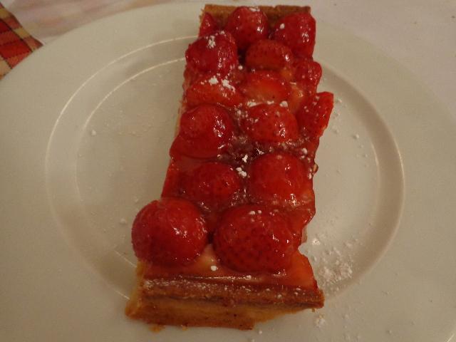 Tarte aux fraises ©GP