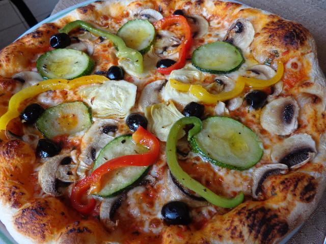 Pizza quatre saisons © GP
