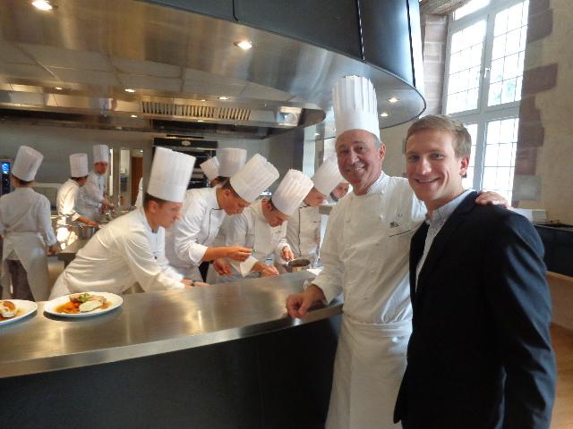 Marc, Maxime et la cuisine © GP