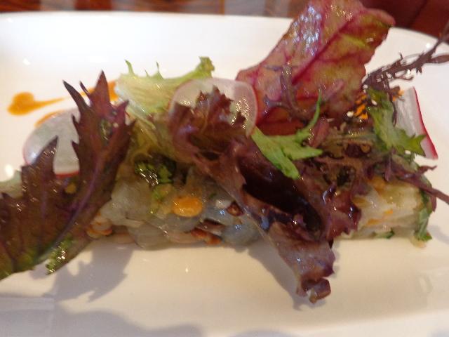 Tartare de crevettes bleues © GP