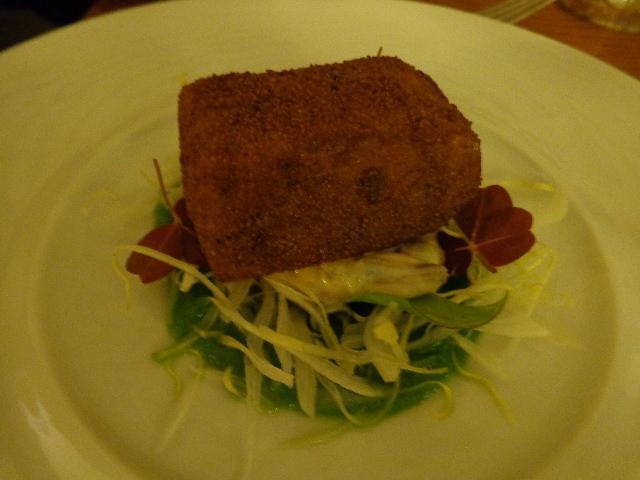 Pied de porc et foie gras © GP