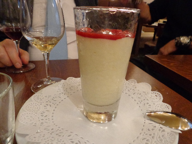 Crème légère à la framboise © GP
