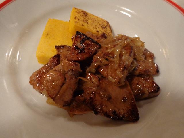 Foie de veau à la vénitienne © GP