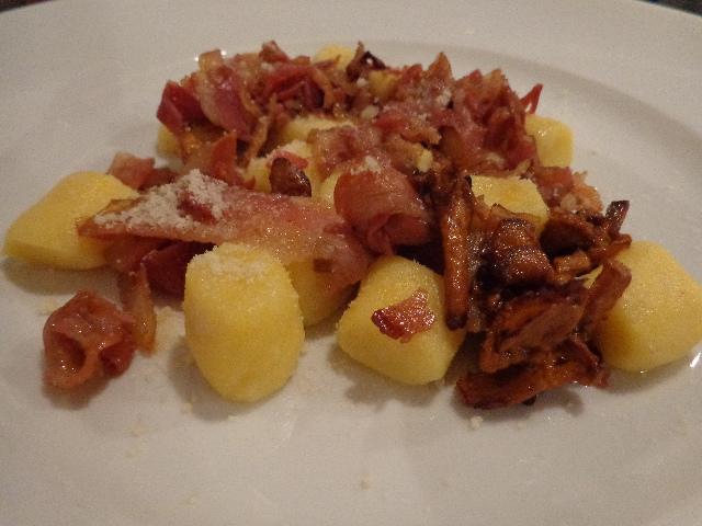 Gnocchi à la pancetta © GP