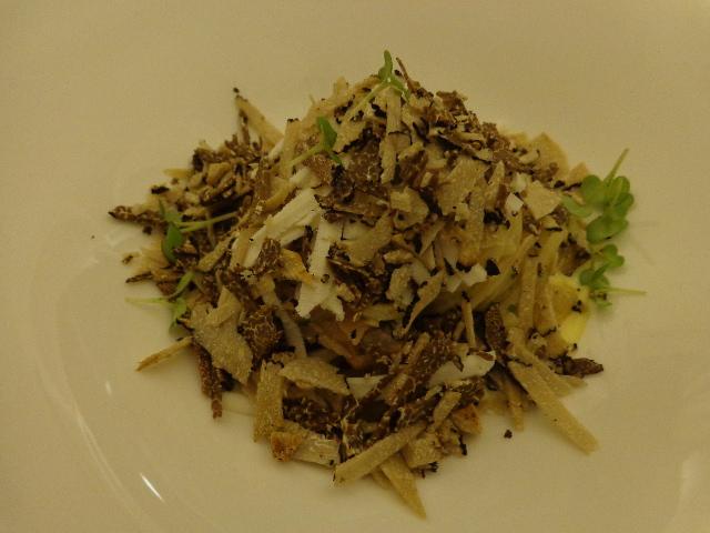 Chittaria carbonara aux truffes © GP