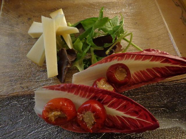 Poivrons aux anchois © GP