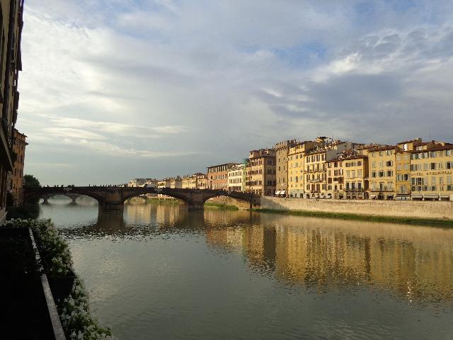 Vue sur l'Arno depuis l'hôtel © GP