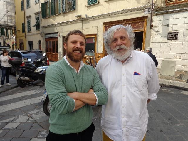 Fabio Picchi et son fils Giulio © GP