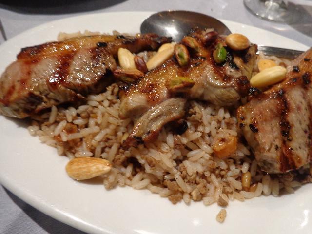Agneau et riz © GP