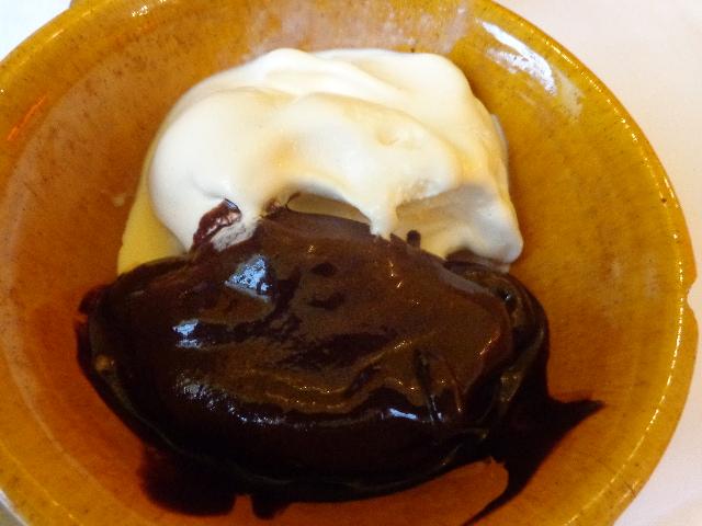 Glace vanille, chocolat © GP