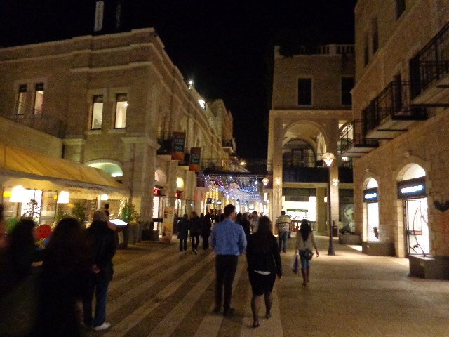La galerie commerciale Mamilla ©GP