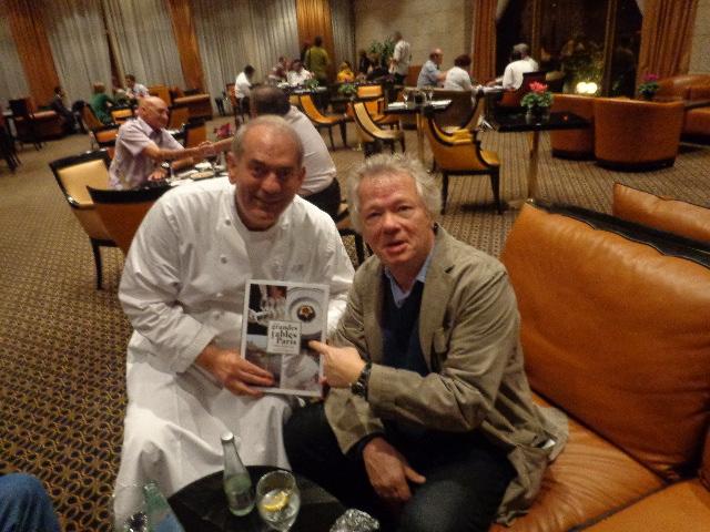 Avec Shalom au Leonardo © GP