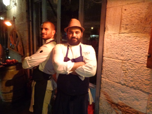 Uri Navon (à droite) et son adjoint © GP