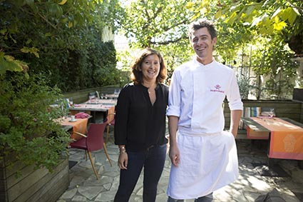 Myriam et Julien Cruège © Maurice Rougemont