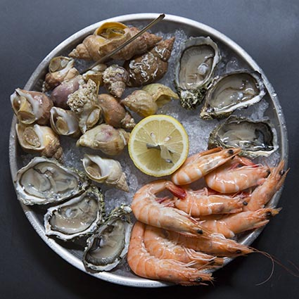 Plateaux de fruits de mer © Maurice Rougemont