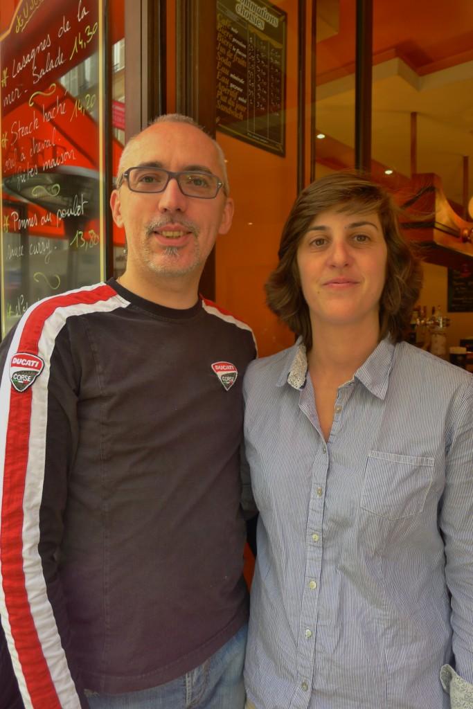 Richard et Aurélie © JPE