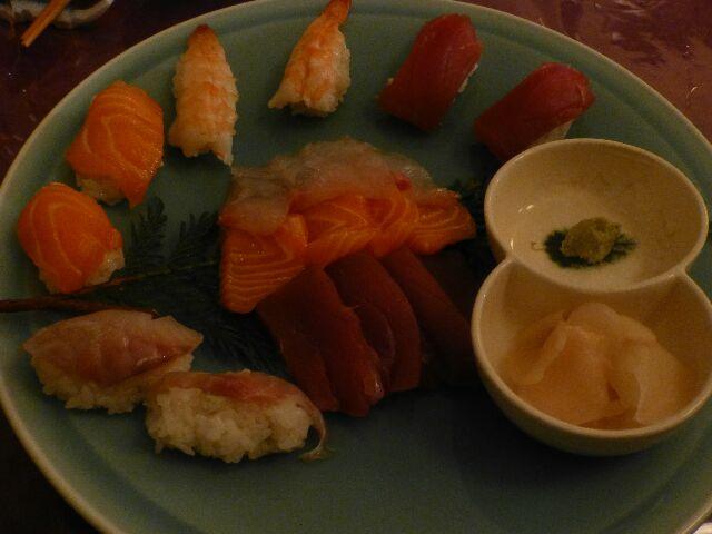 Sushi et sashimi ©DC