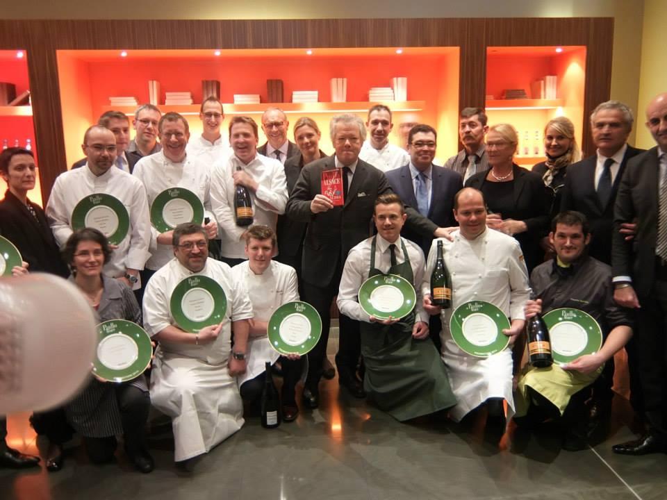 GP et les Lauréats du Pudlo Alsace 2014