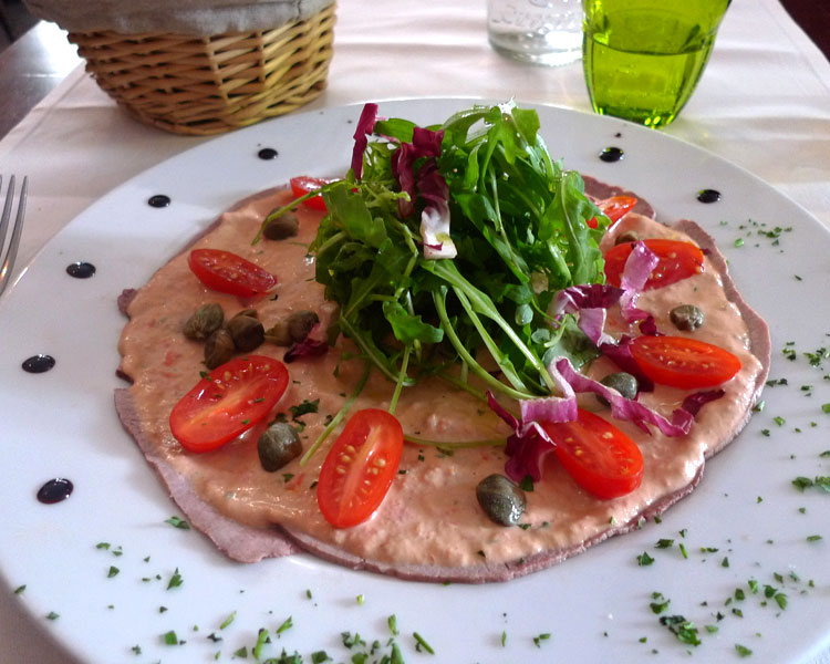 Vitello Tonnato © AN