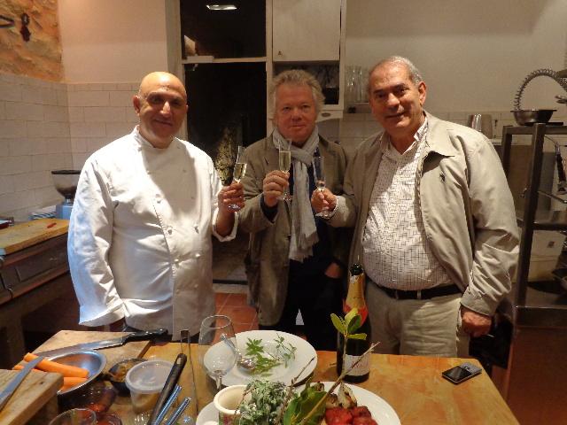 Avec Ezra et Shalom Kadosh © GP
