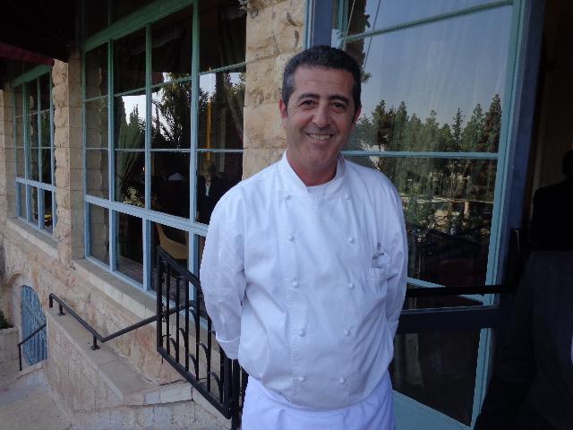Le chef Michel Nabet © GP