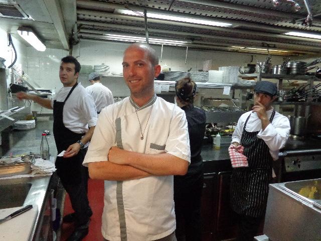 Yaron Shalev en cuisine © GP