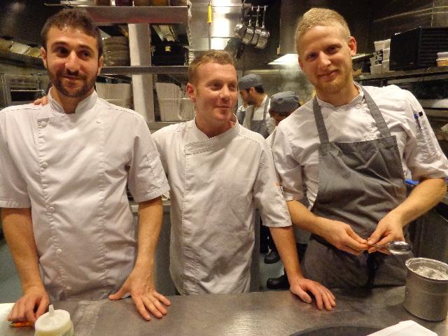 Yuval Ben Neriah (au centre) et son équipe © GP