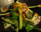 Carpaccio de poisson et légumes © GP