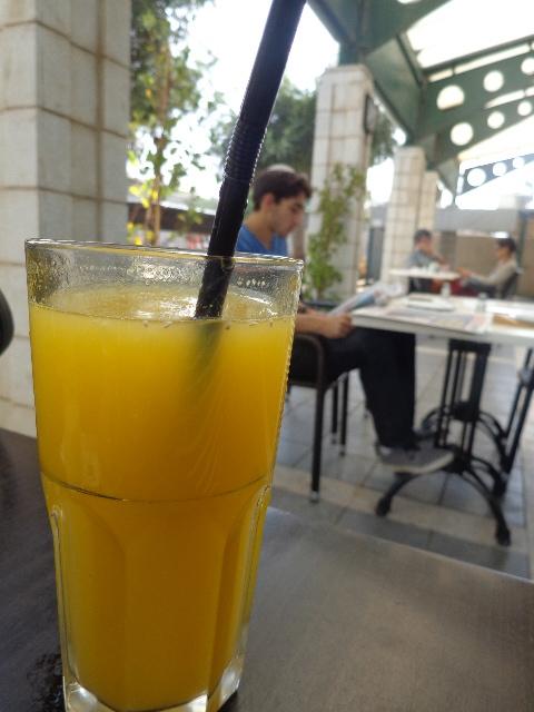 Un jus d'orange © GP