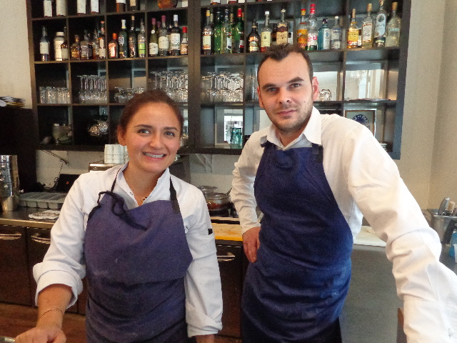 Beatriz Gonzalez et Yannick Tranchant © GP