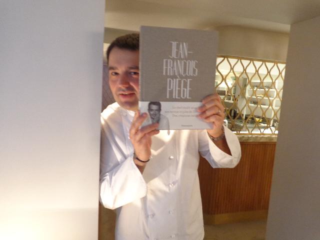 Jean-François Piège et son livre ©GP