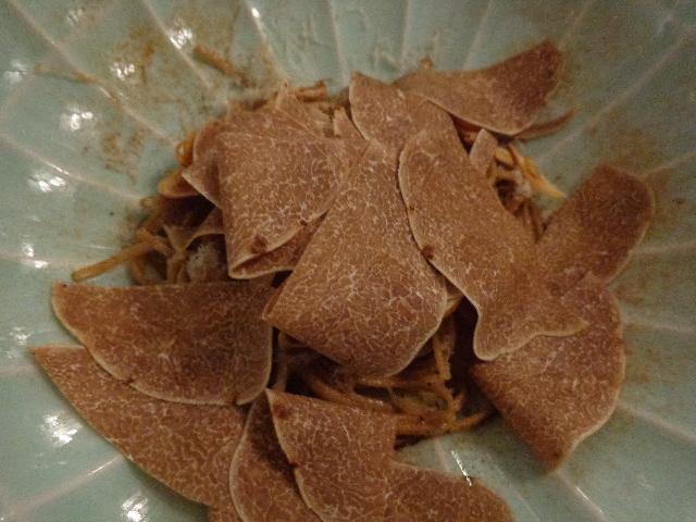 Maltagliati aux truffes blanches © GP