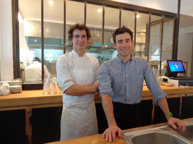 Franck Baranger et Edouard Bobin © GP